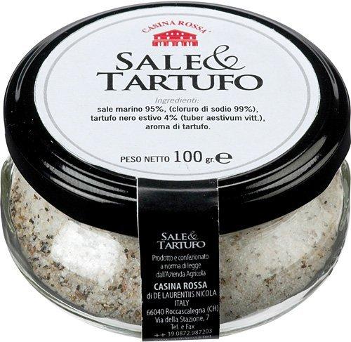 Sale al tartufo – truffle & salt 100 GR / Sea Salt with Truffle -Truffle & Salt