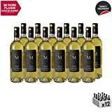 Monbazillac Audrey Blanc 2016 - Domaine du Haut-Montlong - Vin Doux AOC Blanc de Bordeaux - Cépages Sémillon, Muscadelle - Lot de 12x75cl