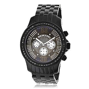 luxurman mens diamond watches