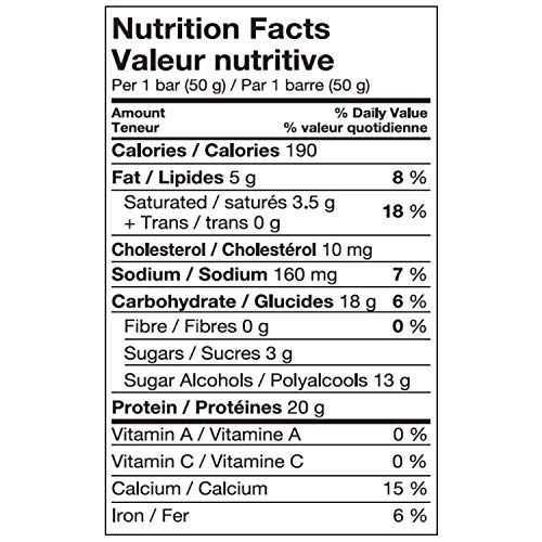 Pure Protein Bars, Gluten Free, Snack Bar, Birthday Cake, 50 gram, 6 count