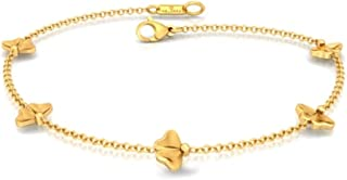 Melorra Mad about Autumn 18kt Yellow Gold Bracelets For Girls & Womens