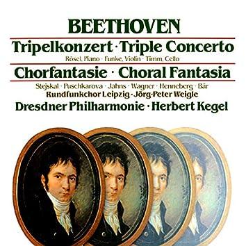 Beethoven: Tripel Concerto / Choral Fantasia