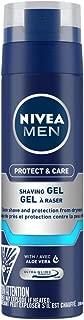 NIVEA MEN Shaving, Protect & Care Shaving Gel, 200ml