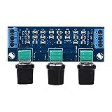 YX202 Accordatura passiva Attenuata Scheda di regolazione degli alti e dei bassi Regolatore di controllo del volume per amplificatori valvolari Schede amplificatore di potenza