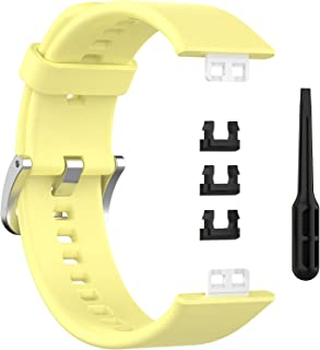 Wristband For For Huawei Watch Fit - Light Yellow