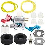 Kuupo 530071629 FL1500 Carburetor with Air Filter Tune Up Kit for Poulan FL1500 FL1500LE Leaf Blower Zama C1U-W12B Carb C1U-W12A