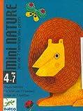 DJECO- Juegos Cartas Mini Nature, Multicolor (36)