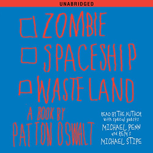 Zombie Spaceship Wasteland audiobook cover art