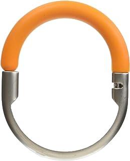 アカツキコーポレーション ハンガーラック オレンジ 本体サイズ:外寸:W7xH5.6xT0.7cm 317343