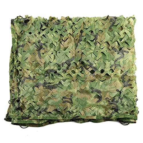 Camouflage Netting Woodland Camo Net Bulk Roll Camouflage Net for Sunshade Camping Military Hunting Shooting Blind Watching Hide Party Decoration Ceiling Fence Canopy Cover-Camouflage net 2x3m(6.5x10f