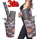 Ewedoos Yoga Mat Bag with Large Size Pocket and Zipper Pocket, Fit Most Size Mats. (Ancient Totem)