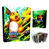 Pokemon Card Holder Binder, Book Best Protection Album Trading Cards GX EX Ho-oh - Raichu