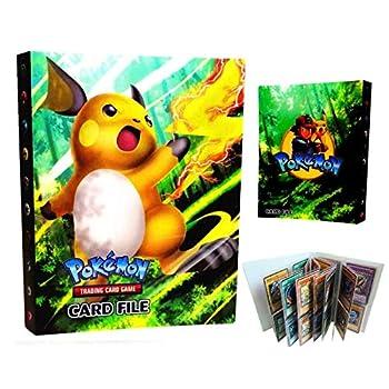 Pokemon Card Holder Binder Book Best Protection Album Trading Cards GX EX Ho-oh - Raichu