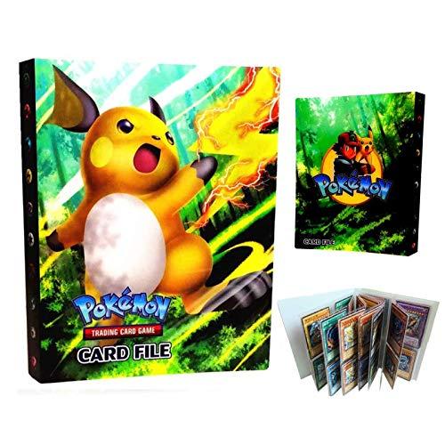 LSST Álbum de cartas coleccionables compatible con carpetas de cartas de Pokémon, titulares Binder, juego de cartas coleccionables TCG, puede contener 240 tarjetas – Ho-Oh