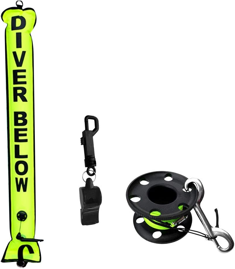 LuDa Inflatable Scuba Diver SMB Surface Buoy Dive Max 61% OFF List price + Marker Finge