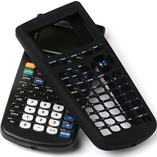 Guerrilla Silicone Case for Texas Instruments TI-83 Plus Graphing Calculator, Black Photo #6
