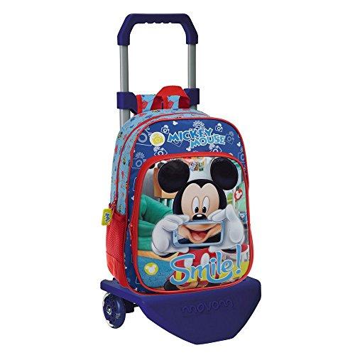 Walt Disney-Sac à dos avec chariot Mickey Smile