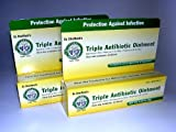 Dr. Sheffields Triple Antibiotic Ointment Bundle of TWO .33 Oz Tubes by Sheffield Pharmaceuticals