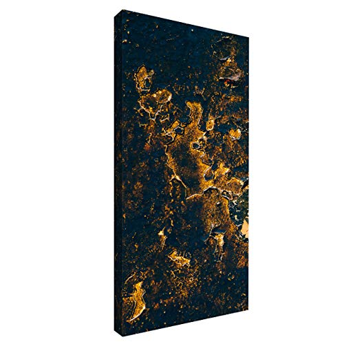 Akustikbild mit Grafiken 100x50x6 cm by Addictive Sound – Akustikplatten Schallabsorber Raumakustik – Viele Designs - Gold_1