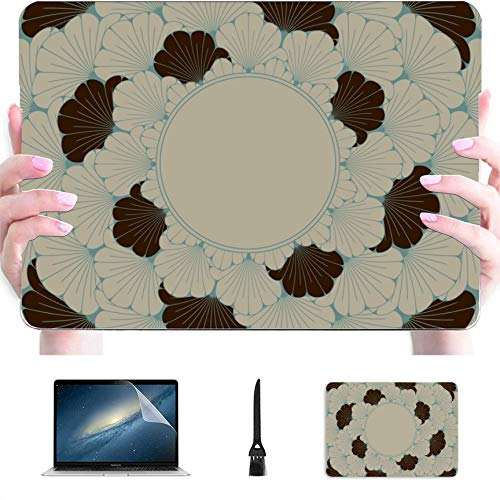 MacBook Case Traditional Folding Fan Plastic Hard Shell Compatible Mac Air 13' Pro 13'/16' MacBook Air Laptop Case Protective Cover for MacBook 2016-2020 Version