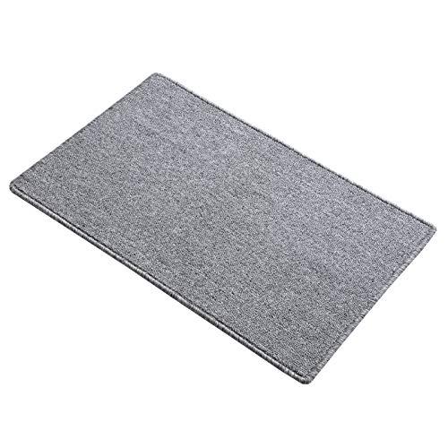 Indoor Doormat Absorbent Mud Mat, Magic Non Slip Door Mat Dirts Trapper Mat, Entrance Doormat for Bathroom, Front, Inside and Entry Washable Rug 32