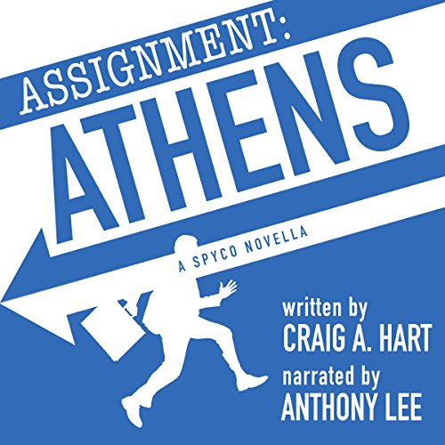 Assignment: Athens audiobook cover art