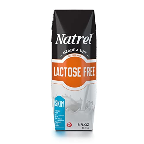 Natrel Skim Lactose Free Milk 8oz (18-Pack)