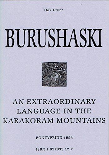 Burushaski: An Extraordinary Language in the Karakoram Mountains
