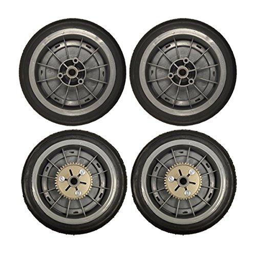 Genuine OEM Toro Self-Propelled Push Wheels Super Recycler 98-7135 & 98-7130