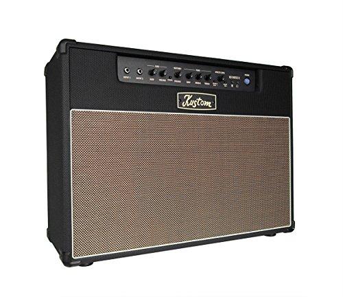 Kustom KG Series - Amplificador de guitarra (2 x 30 cm, con efectos digitales, 100 W)