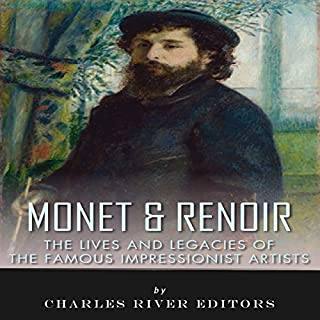 Monet & Renoir audiobook cover art