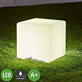 Lampenwelt LED Solarleuchten 'Ziva' (spritzwassergeschützt) (Modern) in Weiß (4...