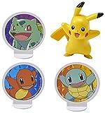 Decopac Pokemon Light Up Pikachu Cake Kit Decoration Original Version, 2.7' x 2.2' x .95',count of 4