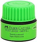 Faber-Castell 1549 63 - Tinta de repuesto para rotuladores 1543, 1546 y 1548, color verde