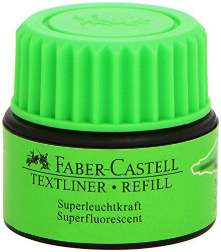 Faber-Castell - FABER-CASTELL Cartouche de recharge'TEXTLINER 1549', vert, verde