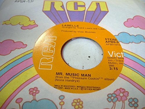 LABELLE 45 RPM Mr. Music Man / Sunshine (Woke Me Up This Morning)