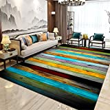 Kunsen Par de Color Cruz Suave, sin Pelo, Alfombra Moderna Alfombra Duradera Resistente a la Suciedad Lavable fácil de Limpiar Antideslizante alfombras Salon Alfombra Juvenil Dormitorio 60X90CM