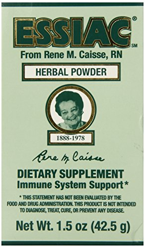 ESSIAC All-Natural Herbal Tea Powder  1.5 oz Bottle | Powerful Antioxidant Blend to Help Promote Overall Health & Well-being | Original Formula from 1922