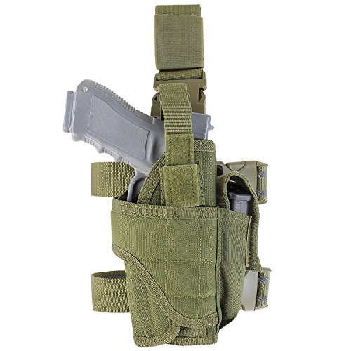 Condor Tornado Tactical Leg Holster (Olive Drab, Fully Adjustable)