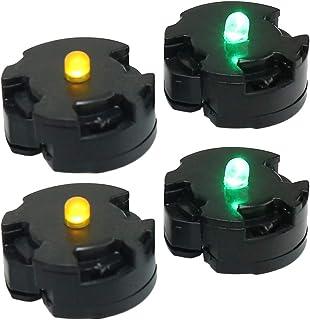 cam LEDユニット LEDライト 電飾パーツ 照明 ガンプラ ジオラマ 模型 ハンドメイド (4個セット)