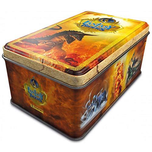 FANTASY RIDERS 2 PANINI Tin Box Lata con 50 Cartas
