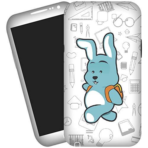 My Custom Style Cover 3D #Scuola - Coniglietto# per Samsung Galaxy S4