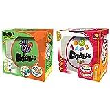 Zygomatic Dobble Infantil - Juego de Tablero (Asmodee DOKI01ES) + Formas Y Números - Español/Portugués, (Asmodee DOBCF01ES), Color/Modelo Surtido