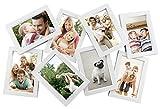 MCS Zig-Zag 65711 - Marco para Collage con Aberturas de 8-4 x 6, Color Blanco