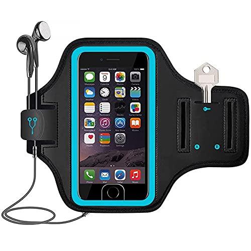 DimiDay Deportes al aire libre corriendo teléfono móvil brazalete fitness brazo cubierta teléfono móvil brazo bolsa