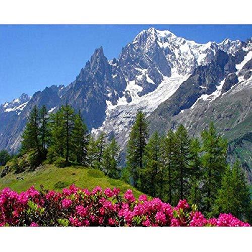 Paisaje bajo los Alpes 1000 piezas de rompecabezas, juguetes educativos para niños, juegos de padres e hijos, juegos de desarrollo intelectual