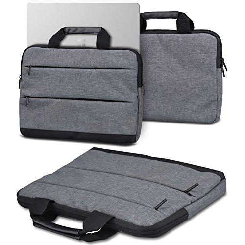 Laptoptasche Sleevehülle für Trekstor Surfbook W1 W2 Notebook Tasche Schutzhülle Laptop Case mit Innentaschen in Grau, Farbe:Dunkelgrau