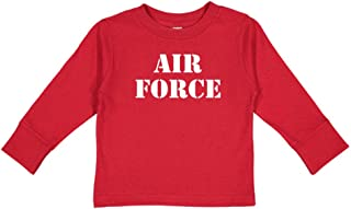 Air Force - Military Armed Forces Soldier Toddler/Kids Long Sleeve T-Shirt