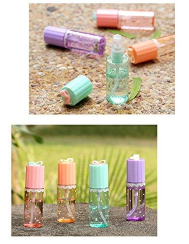 jkhhi Beauty Flacon Atomiseur De Plastique 35Ml, Brume Fine Bouteille Transparent Leak Proof Liquide Conteneurs Portable Flacons