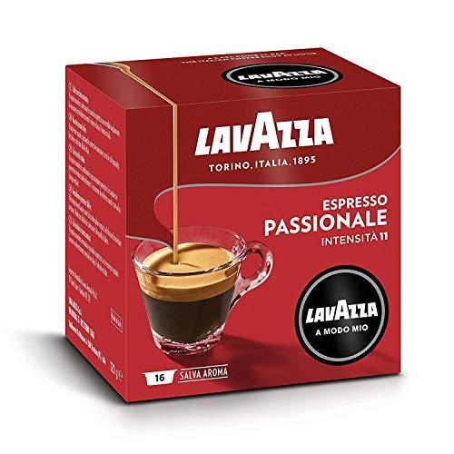 Lavazza A Modo Mio Espresso Passionale 256 Pods for Capsule Coffee Machine, Dark